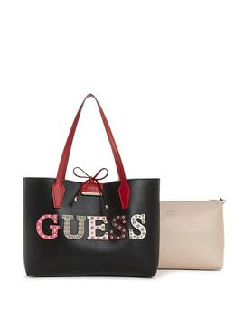 Lizzy Logo Round Mini Satchel by Guess