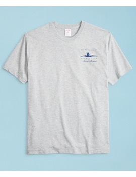 2018  Head Of The Charles® Regatta Cotton T Shirt by Brooks Brothers