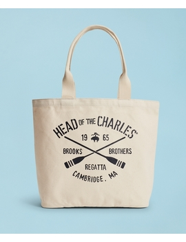 2018  Head Of The Charles® Regatta Canvas Tote Bag by Brooks Brothers