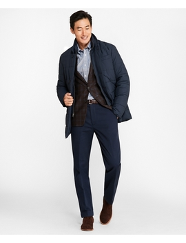 Water Repellent Quilted Topcoat by Brooks Brothers