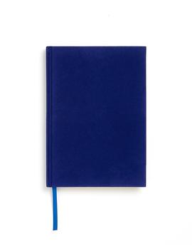 Small Velour Notebook   Ink Blue by Ban.Do