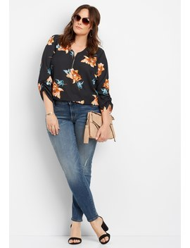 Plus Size Denim Flex™ Medium Wash Skinny Jean by Maurices