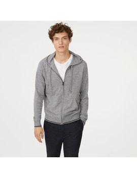 Merino Full Zip Hoodie by Club Monaco