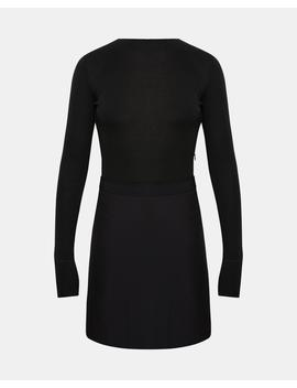 Combo Mock Mini Dress by Theory
