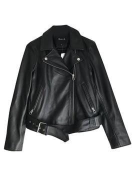 True Black Ultimate Motorcycle Jacket by Madewell