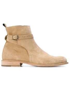 Handmade Mens Fashion Jodhpur Boots, Mens Beige Color Jodhpur Ankle Boots by Luulla