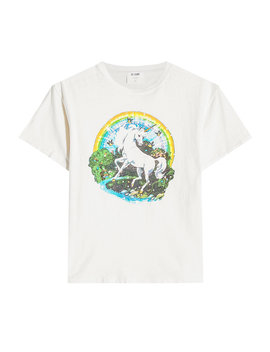Unicorn Dream Cotton T Shirt by Re/Done
