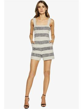 Textured Playsuit by Bardot