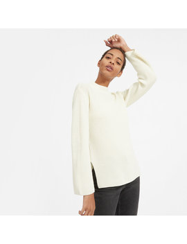 The Cashmere Rib Mockneck by Everlane