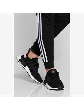 Adidas Women's Nmd R1 Black/White/Pink by Adidas