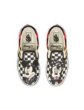 Kids Disney X Vans Classic Slip On Shoes (4 12 Years) by Vans