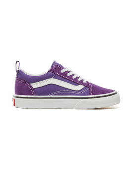 Kids Old Skool Elastic Lace Shoes (4 12 Years) by Vans