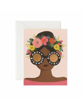 Flower Crown Birthday Girl by Rifle Paper Co.