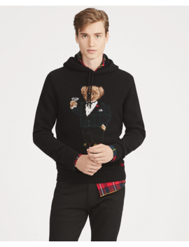martini-bear-hooded-sweater by ralph-lauren