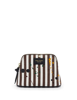 Splatter Paint Small Canvas Cosmetic Case by Henri Bendel