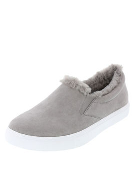 Women's Devonne Fur Slip On by Learn About The Brand Brash