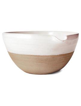 "Silo Mug, White/Natural by [""Farmhouse Pottery""]"