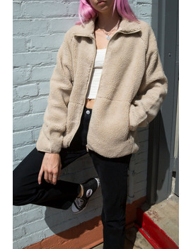 Willow Shearling Jacket by Brandy Melville