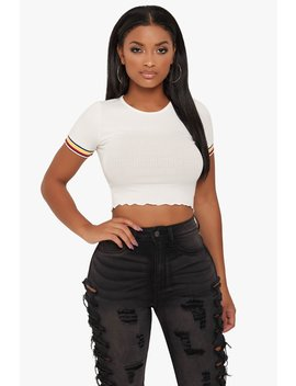 Jackie Crop Top by Honeybum