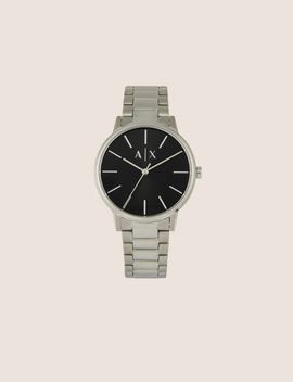 Minimalist Stainless Steel Bracelet Watch by Armani Exchange