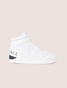 Retro Mesh High Top Sneaker by Armani Exchange