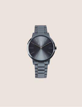 Navy Stainless Minimalist Bracelet Watch by Armani Exchange