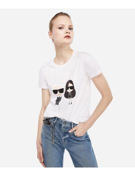 Karl X Kaia Ikonik T Shirt by Karl Legerfeld