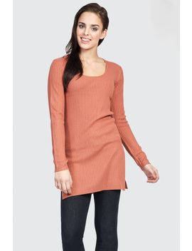 Scoop Rib Tunic by Select