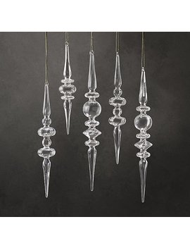 Artisan Handblown Glass Fluted Finial Collection by Restoration Hardware