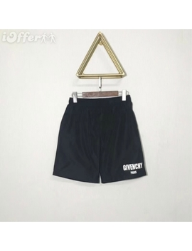 2018 Givenc Paris Supreme Mens Dry Fit Black Logo Shorts by I Offer