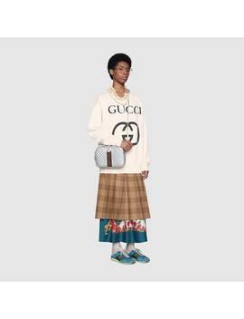 Oversize Sweatshirt With Interlocking&Nbsp;G by Gucci