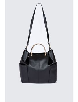 Ring Handle Tote Bag by Select