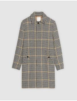 Checked Coat by Sandro Eshop