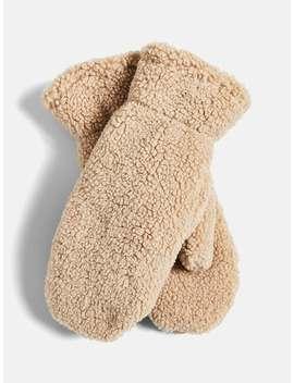 teddy-mittens by bikbok
