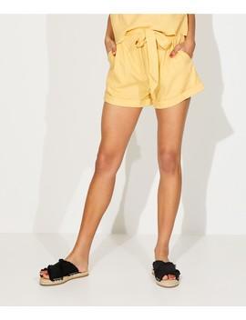 High Waist Linen Short by Sportsgirl