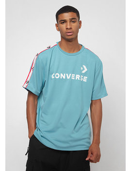 Track Tee Shoreline Blue by Converse