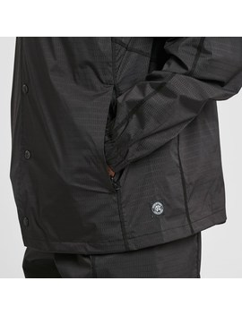 Reigning Champ  Coachs Jacket   Honeycomb Stretch by Reigning Champ