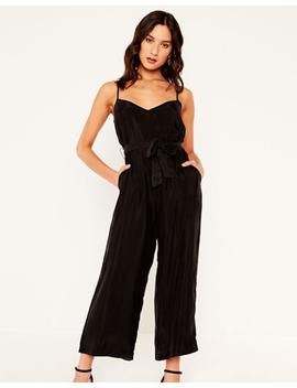 Tie Waist Jumpsuit by Glassons
