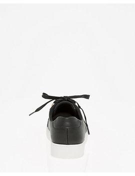 Lace Up Platform Sneaker by Le Chateau
