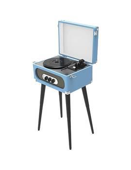 Sylvania® Bluetooth® Retro Turntable With Stand &Amp; Fm Radio, Blue (Src894) by Sylvania