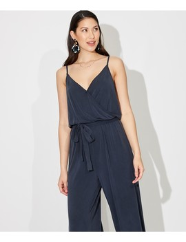 Luxe Wrap Jumpsuit by Sportsgirl