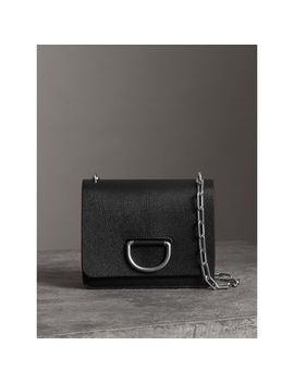 The Small Leather D Ring Bag by Burberry