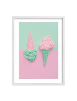 Two Cones Framed Art By Minted® by P Bteen