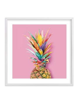 Pineapple Crown Framed Art By Minted® by P Bteen