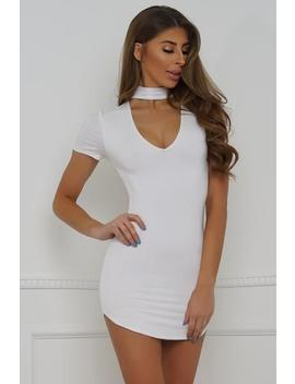 Angelina Dress   White by Want My Look