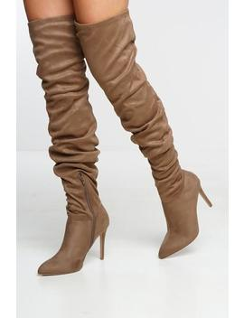York Boot   Tan by Want My Look