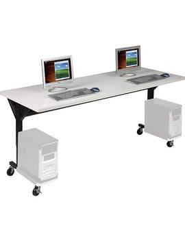 Balt 89862 Brawny Training Tables, Gray by Balt