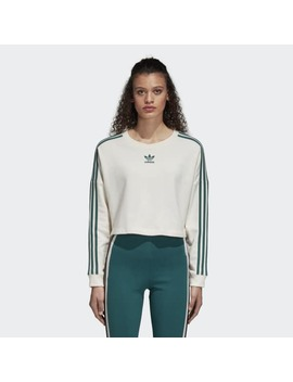 Adibreak Cropped Sweatshirt by Adidas