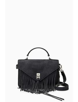 Small Darren Messenger With Fringe by Rebecca Minkoff