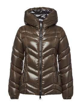 Quilted Down Jacket With Hood by Moncler